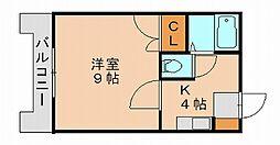 SRハイツ[1階]の間取り