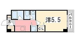シティーヒルズII[305号室]の間取り