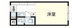 the eight[3階]の間取り