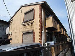 埼玉県越谷市赤山町1の賃貸アパートの外観