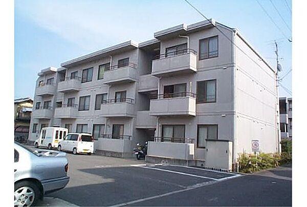 京都府京都市西京区樫原庭井の賃貸マンションの外観