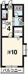 アクア21[105号室]の間取り