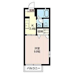 Amadeus Imaizumi[1階]の間取り