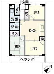 メゾンシーベル[3階]の間取り