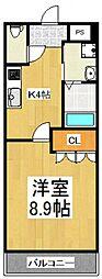 Y・S Crecia[2階]の間取り