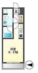グラン・アベニュー西大須[7階]の間取り