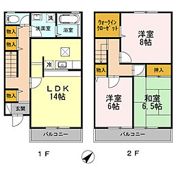 [テラスハウス] 神奈川県藤沢市鵠沼海岸7丁目 の賃貸【/】の外観