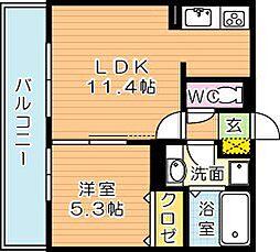 仮)D-room三ケ森[2階]の間取り