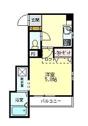 ドミール篠栗[2階]の間取り