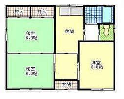 [一戸建] 青森県八戸市下長2丁目 の賃貸【/】の間取り