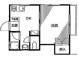 タグチハウスPART2[2階]の間取り
