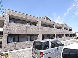 兵庫県姫路市白浜町神田2丁目の賃貸アパートの外観