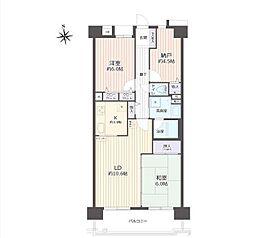 納戸付、居室も広々の2SLDK