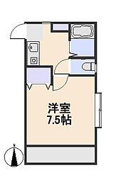 新海荘[1階]の間取り
