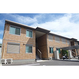 滋賀県野洲市六条の賃貸アパートの外観