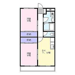 エクセレントNOW[4階]の間取り
