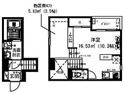 RadIAnce新松戸[201号室号室]の間取り