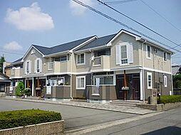 岐阜県岐阜市加納西山町の賃貸アパートの外観
