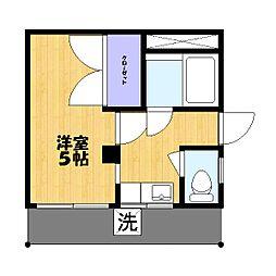 田所マンション[1階]の間取り
