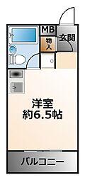 (分譲)甲子園上鳴尾シティハウス[2階]の間取り
