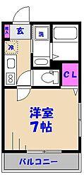市川市平田PJ[1階]の間取り