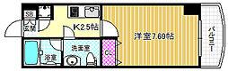 ライブコート北梅田[11階]の間取り