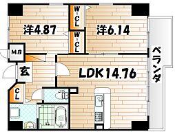 ピュアライフ金田ビル[2階]の間取り