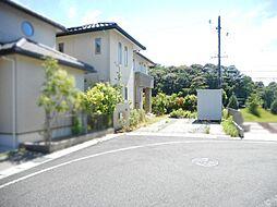 前面道路が広く、間口もゆったり。駐車が苦手なかたもらくらく停められます