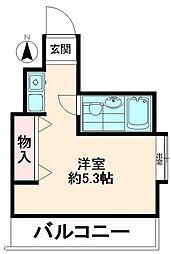 フローラルヒモンヤ[2階]の間取り