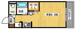 大阪府大阪市西淀川区柏里1丁目の賃貸マンションの間取り