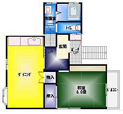 イースト産業ホーム[2階]の間取り
