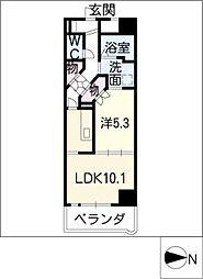 グランドステージ丸の内[11階]の間取り