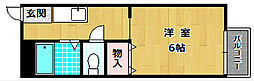 大阪府枚方市長尾元町4丁目の賃貸アパートの間取り