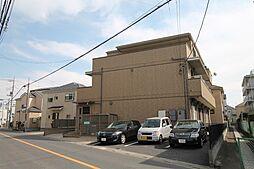 埼玉県越谷市伊原1丁目の賃貸アパートの外観