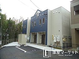 愛知県豊田市西岡町西山丁目の賃貸アパートの外観
