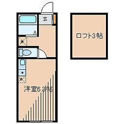 アルシオーネ東林間[1階]の間取り