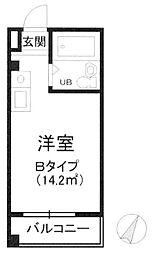 東京都文京区大塚5丁目の賃貸マンションの間取り
