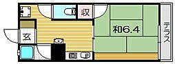 茨木ハイツ[2階]の間取り