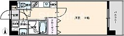 岡山県岡山市北区南方1丁目の賃貸マンションの間取り