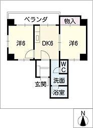 レスポアール大須ELM[3階]の間取り