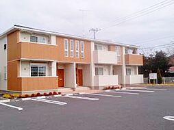 千葉県東金市北之幸谷の賃貸アパートの外観