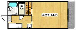 MIIスターマンション[107号室]の間取り
