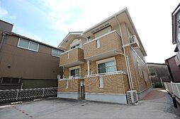 愛知県名古屋市中川区四女子町3丁目の賃貸アパートの外観