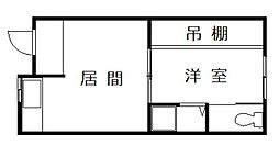 Mハウス[1階]の間取り