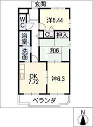 YOKOI HOUSEVII[3階]の間取り