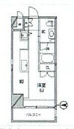 アーデンタワー南堀江[11階]の間取り