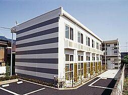 埼玉県川口市鳩ケ谷本町3丁目の賃貸アパートの外観