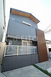 京都府京都市左京区田中西樋ノ口町の賃貸マンションの外観