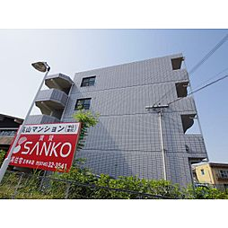 奈良県生駒郡斑鳩町法隆寺東2丁目の賃貸マンションの外観