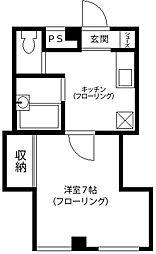 KRDビル[3階]の間取り